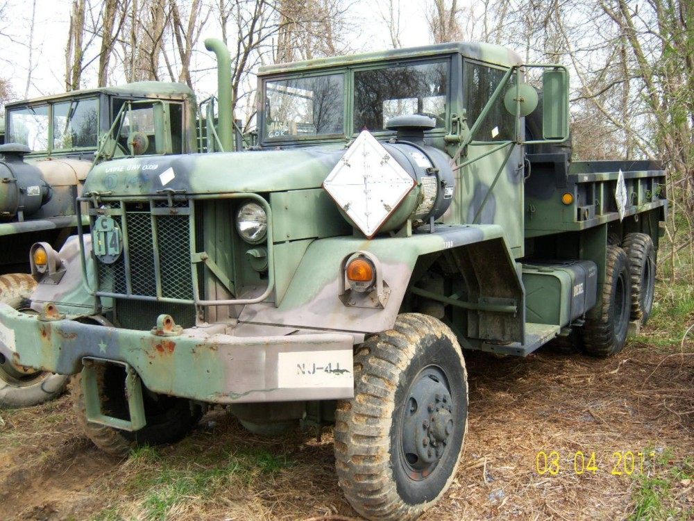 5 Ton Army Trucks >> 1970 MILITARY XM813 X6 DIESEL 5 TON CARGO TRUCK