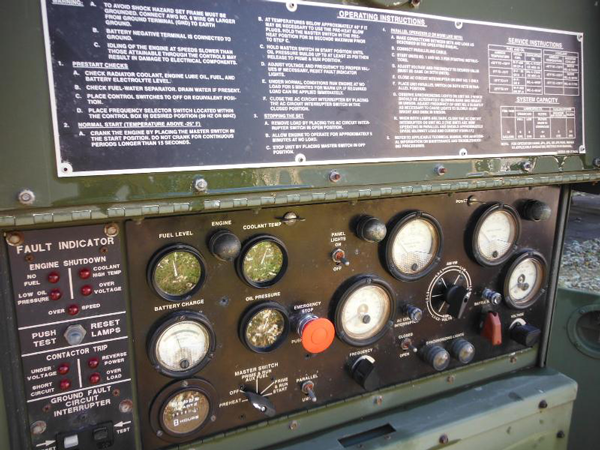 15KW MEP-804A Diesel Military EMP PROOF Tactical Quiet
