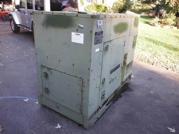15KW KW MEP 804A MILITARY TACTICAL GENERATOR6