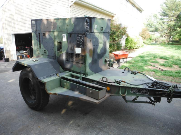30KW KW MEP 805A MILITARY TACTICAL GENERATOR8
