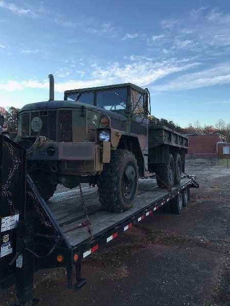 M35a3 Military Winch Truck 9k Miles Updated 2005 Surplus