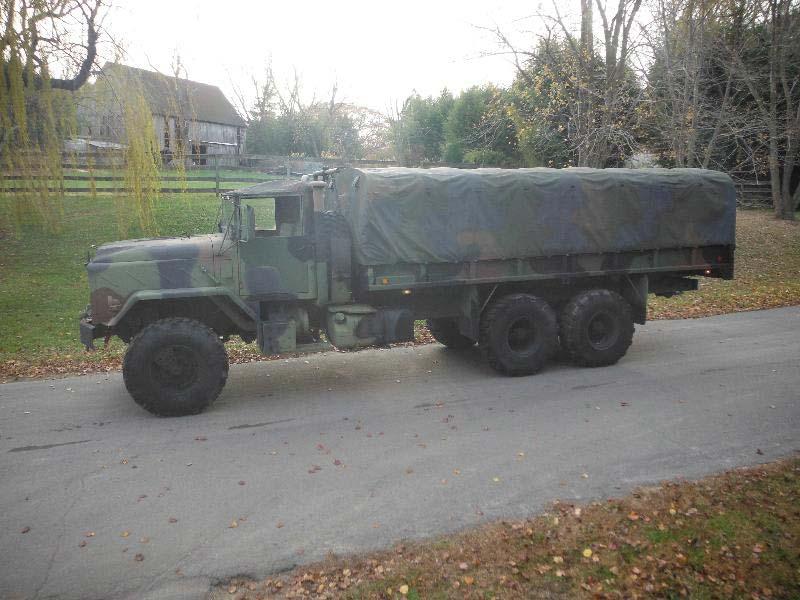 M927A2 XLWB MILITARY 6X6 UPDATED 2010 10k TRUCK - Surplus