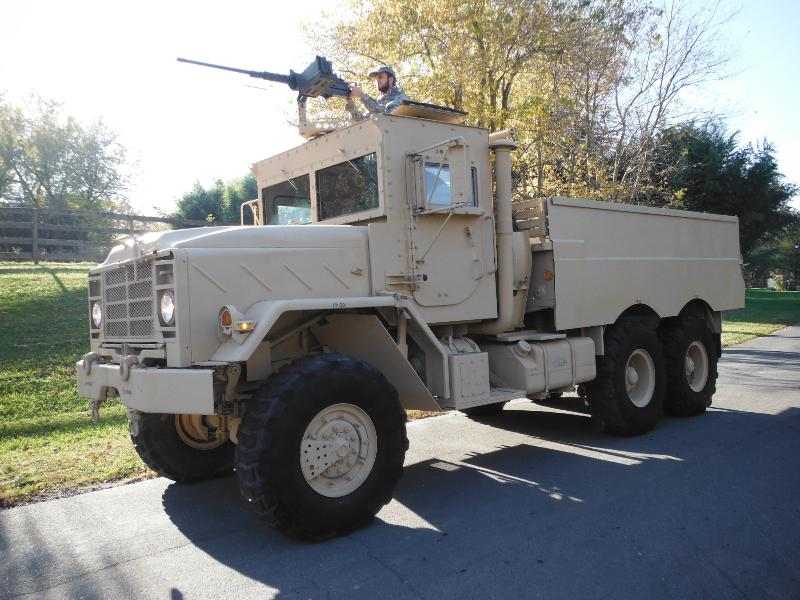 M923A2 ARMORED TRUCK W/AOA & IED & A/C KIT