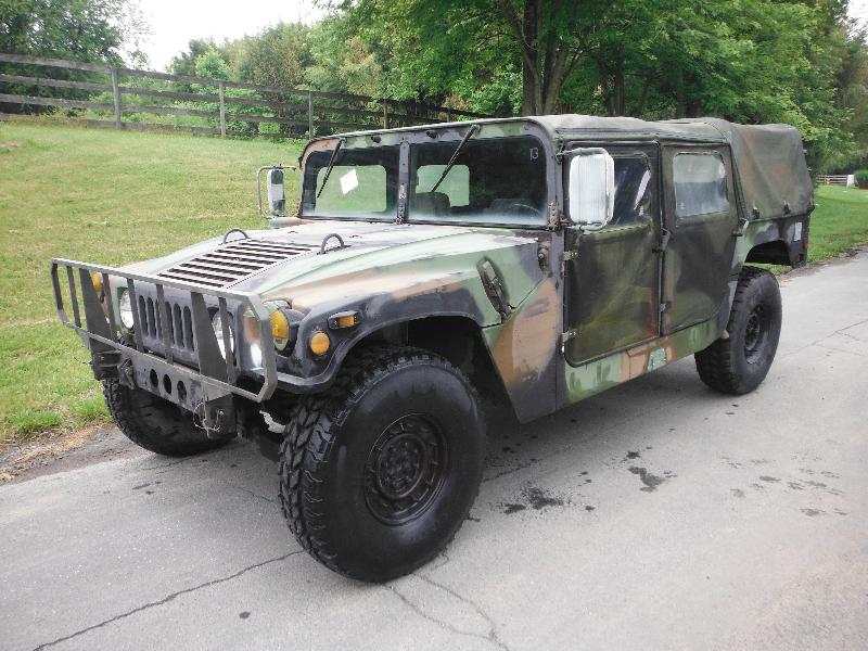 M998 MILITARY ARMY 4DR 13k miles H1 HUMMER Truck W/ON ROAD TITLE - Surplus Military Depot