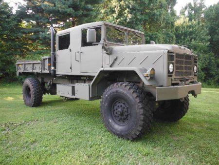 Cheap Military Surplus >> CREW CAB M923 A2 5 TON 4X4 MILITARY TRUCK - Surplus Military Depot