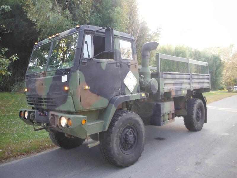 Stewart And Stevenson M1081 4x4 Lmtv Cargo Truck Unimog M1078
