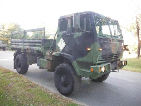 Unimog For Sale >> STEWART AND STEVENSON M1081 4x4 LMTV CARGO TRUCK UNIMOG ...