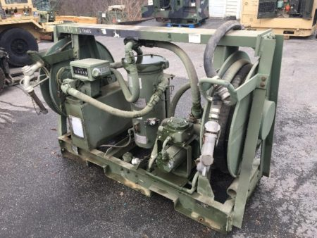 Aluminum Travel Trailers >> Military Surplus Aluminum Skid Mounted Fuel Transfer Pump Unit MIL-T-40136 tank - Surplus ...