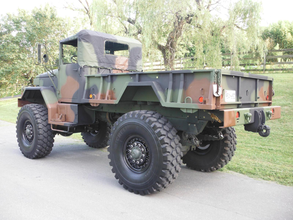 Monster Army Truck - M35A2 Custom Bobbed Deuce w/ 5 Ton Axles
