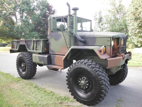 Monster Army Truck - M35A2 Custom Bobbed Deuce w/ 5 Ton ...