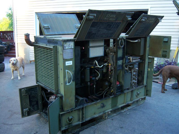 Us Army Surplus >> Military 30KW Diesel Extreme Duty EMP Proof Generator - Surplus Military Depot