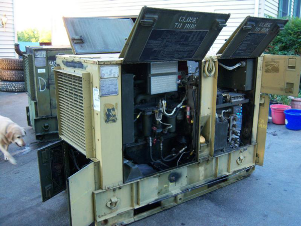 Military 30KW Diesel Extreme Duty EMP Proof Generator