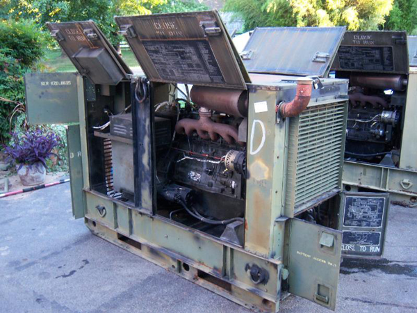 Military 30KW Diesel Extreme Duty EMP Proof Generator